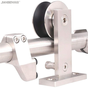 Wholesale stainless steel sliding barn door hardware kits-hm3001
