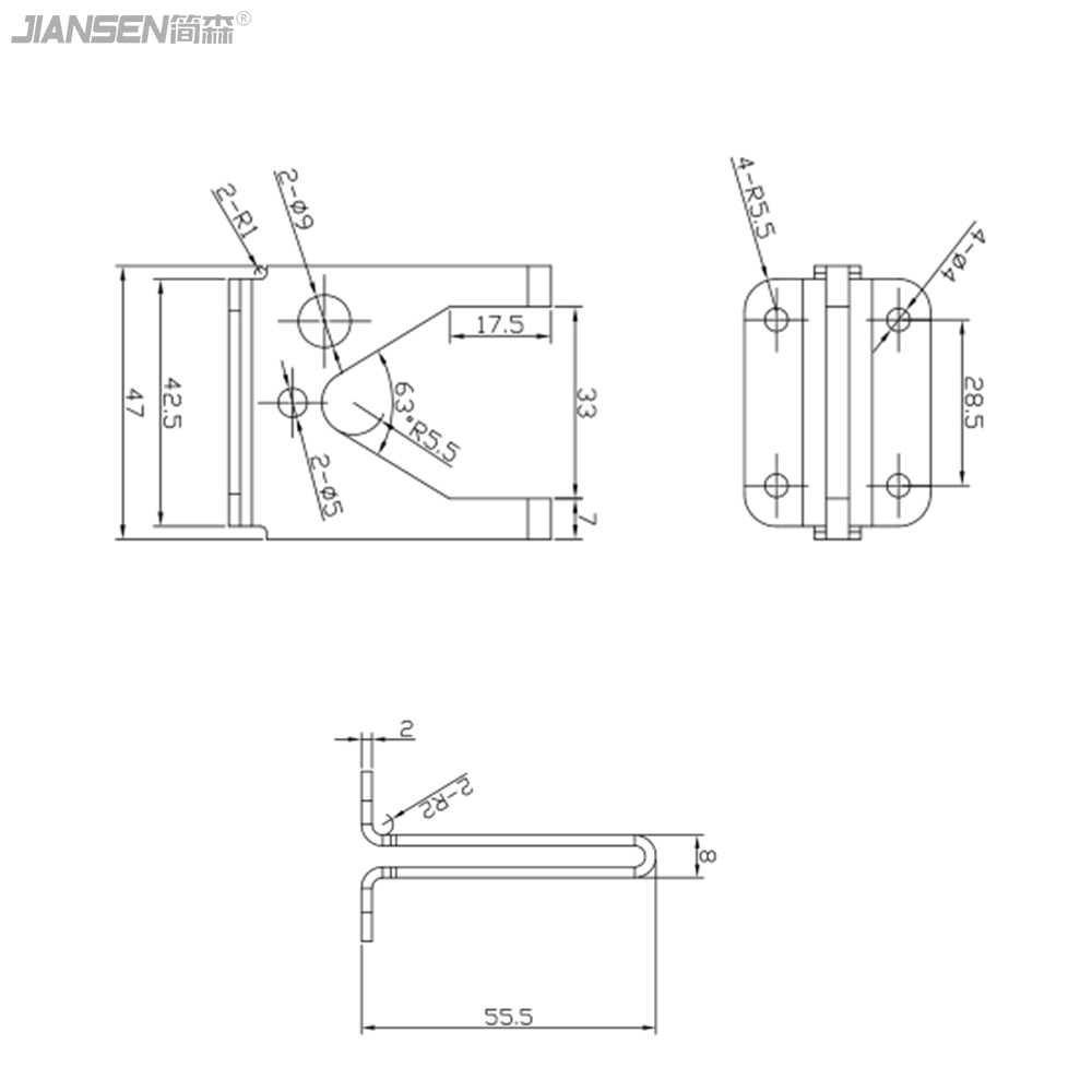 fence gravity latch lock manufacturer-JL1802